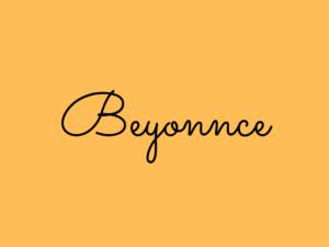 Beyonnce